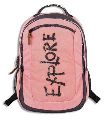 Studentský batoh CLASSIC VIKI peach