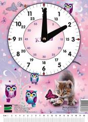 Hodiny školní Dream - Kitty Emipo
