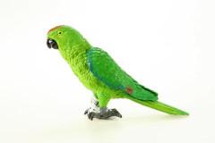 Papoušek 16,5 cm ručně malovaný