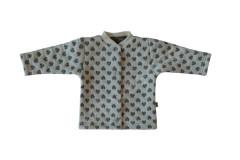 Zimní dvouvrstvý kabátek se stojáčkem Srdíčka Baby Service