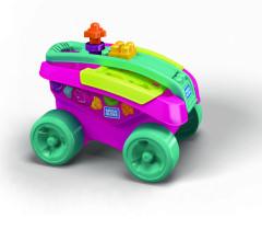 Mega Bloks zábavný sběrač kostek růžový
