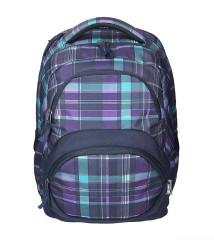 Studentský batoh SPIRIT FREEDOM 01 fialová Emipo