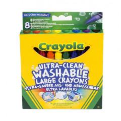 Smývatelné voskovky 8ks Crayola