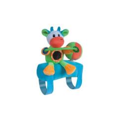 Plyšová hračka na madlo Canpol KRAVIČKA