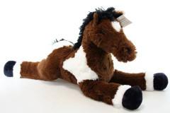 Plyšový kůň 62 cm