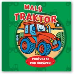 Knížka Malý traktor – podívej se pod obrázek!