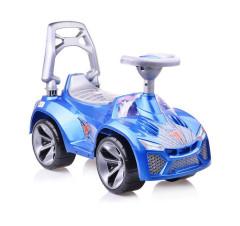 Auto odrážedlo modré s klaksonem