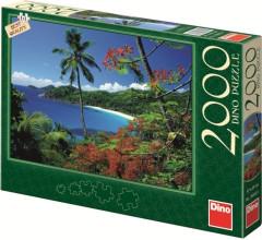 Puzzle Mořský záliv 97x69cm 2000 dílků