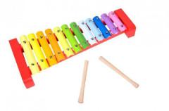 Xylofon dřevo/kov 36cm