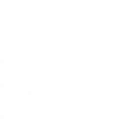 Proutěný koš na miminko s boudičkou Hvězdička - bílá