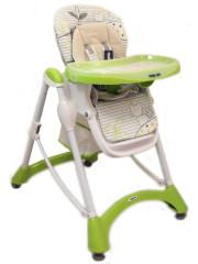 Jídelní židlička Baby Mix green