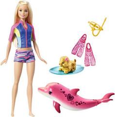 Barbie panenka Magický delfín FBD63