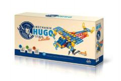 Mechanik Hugo staví Letadlo Seva stavebnice s nářadím 144ks