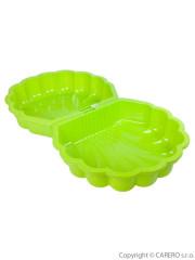 Pískoviště-bazének Mušle - 2 ks zelené