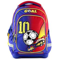 Školní batoh Goal - Modro-červený I.