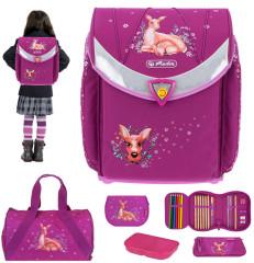Školní taška set Herlitz Flexi jelení rodinka
