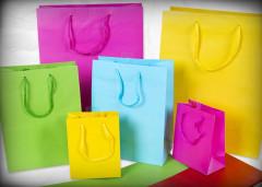 Dárková taška mini jednobarevná 13,5 x 11 cm Albi