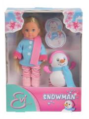 Panenka Evička a sněhulák