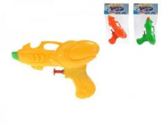 Vodní pistole 13cm 3barvy v sáčku