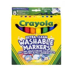 Fixy se širším hrotem 8ks Crayola