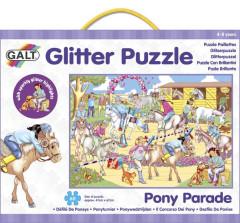 Třpytivé puzzle - přehlídka koní