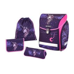 Školní taška set Midi Herlitz Jednorožec
