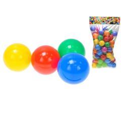Míčky do hracích koutů 7 cm 80 ks 12 m+