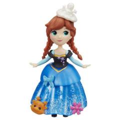 Frozen malé panenky - Anna v modrých šatech