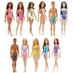 Barbie v plavkách DWJ99 Mattel