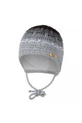 Čepice pletená zavazovací duha Outlast® - Šedá