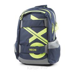 Studentský batoh OXY Sport BLUE LINE Green