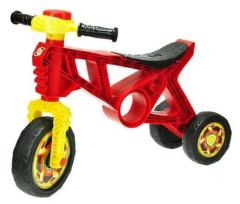 Motorka/odrážedlo červené s klaksonem max. 20kg