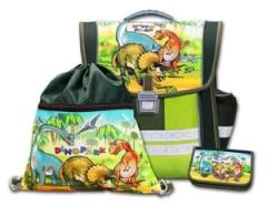 Školní aktovkový set Dinopark 3-dílný Emipo
