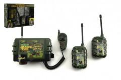 Vysílačky walkie-talkie plast na baterie 3ks