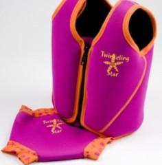 Dětská plavací vesta 1-6 let - hvězdice