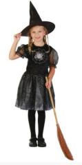 Kostým - Čarodějka 120-130 cm