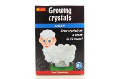 Rostoucí krystaly ovečka