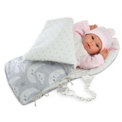 Panenka - New Born holčička ve fusaku 36 cm