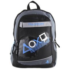 Batoh PlayStation - bílé a modré symboly