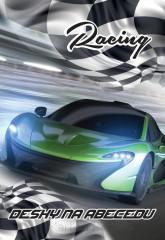 Desky na abecedu Junior auto Racing