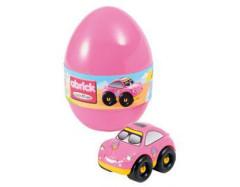 Velikonoční vejce Écoiffier S autíčkem - RŮŽOVÉ AUTÍČKO