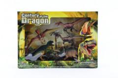 Dinosaurus sada plast 5ks v krabici