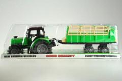 Traktor s vlečkou na setrvačník 50cm