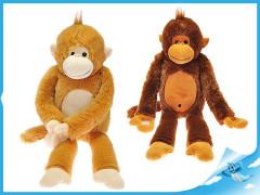 Opice plyšová dlouhé nohy 60cm 0m+
