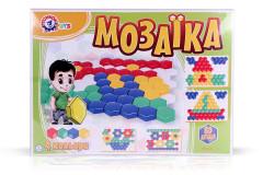 Mozaika šestihran velké dílky 80ks