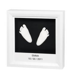 Baby Art Rámeček pro 3D otisk Window Sculpture Frame White