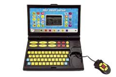 Můj první laptop/notebook černomodrý