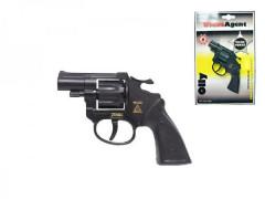 Pistole - Kapslovka Olly 13cm 8 ran na kartě