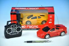 Auto RC plast 16cm 27MHz na baterie asst 2 barvy v krabici