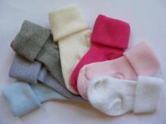 Kojenecké ponožky 0 - 6 m bavlna Sponks TM. RŮŽOVÉ